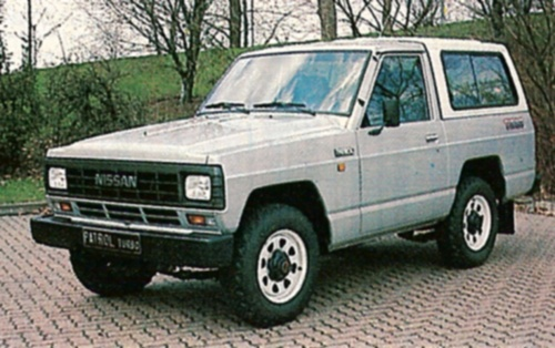 Nissan Patrol 3300 Turbo