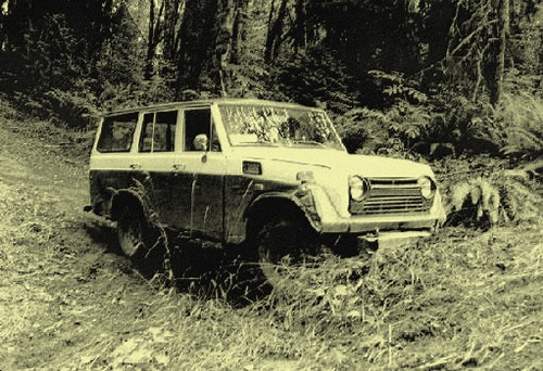 Toyota Land Cruiser Station Wagon FJ55