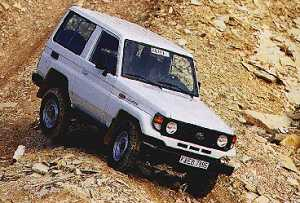 Toyota Land Cruiser HZJ71