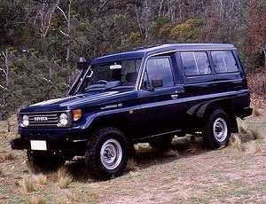 Toyota Land Cruiser BJ75