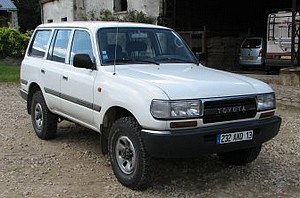 Toyota Land Cruiser Station Wagon HZJ80